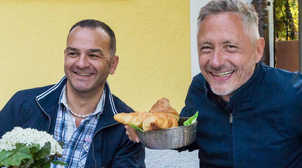 die Inhaber Sven-Malmstroem und Michael Klopfer